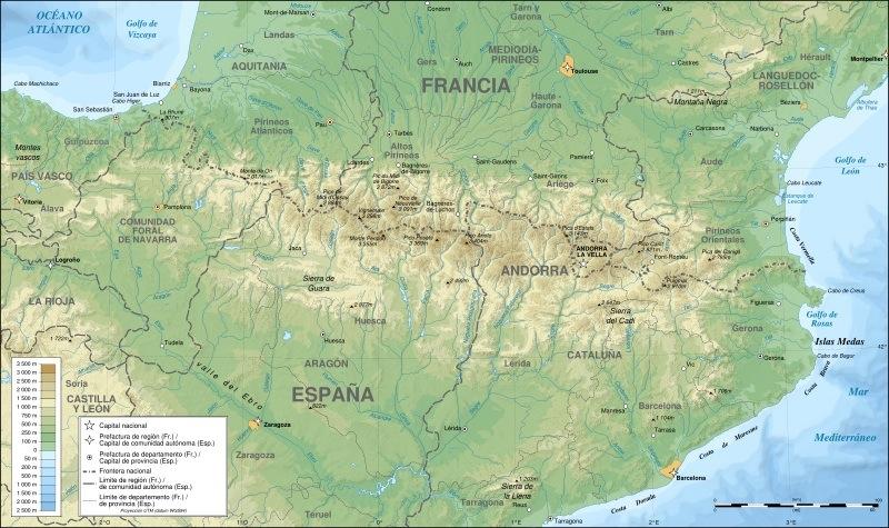 Pirineos Pyrenaeus